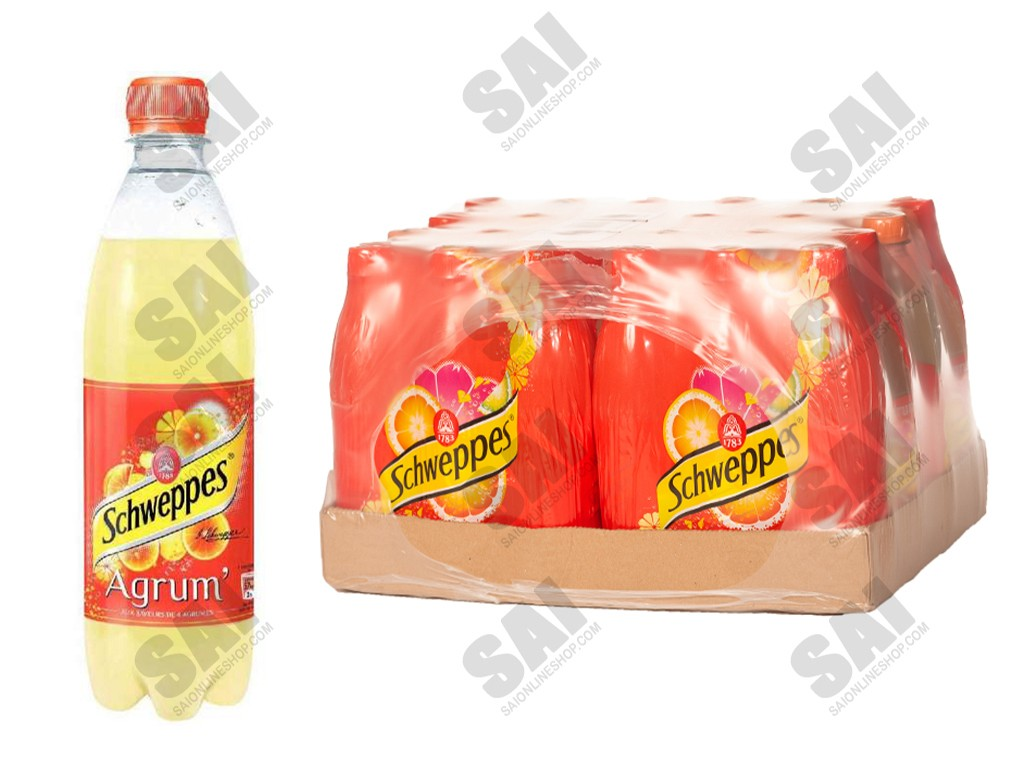 Schweppes- Agrumcl 50cl x 24