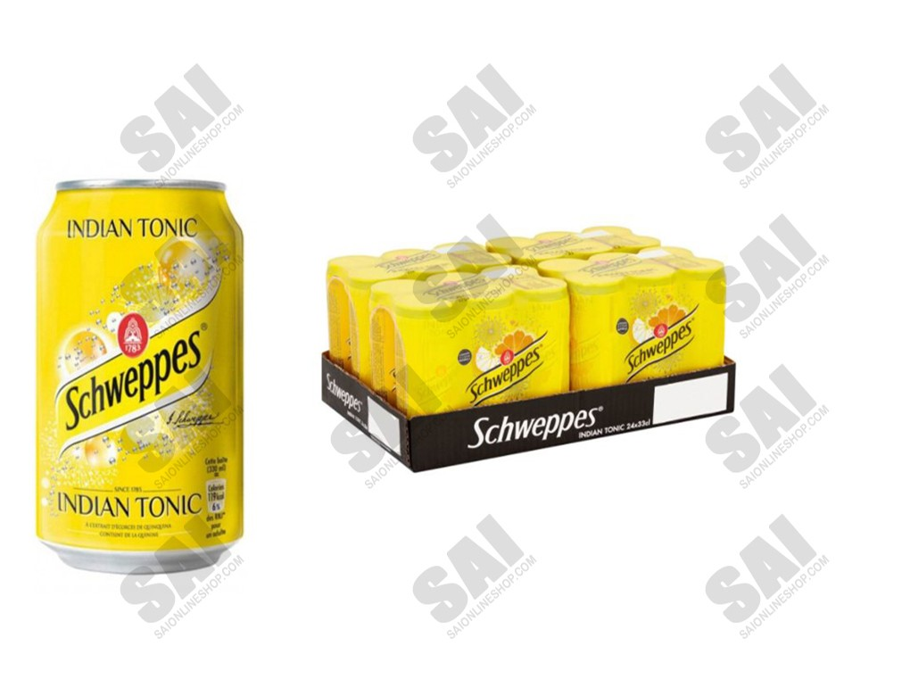 Schweppes - Indian Tonic 33cl X 24