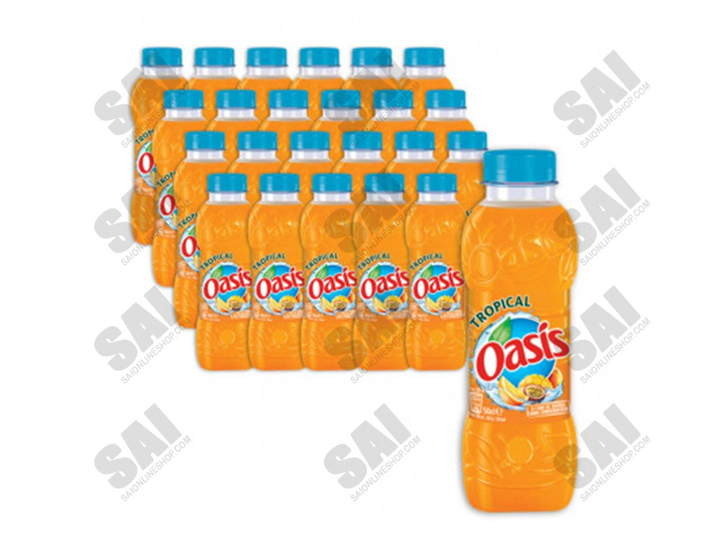 Oasis Tropical 50cl X 24