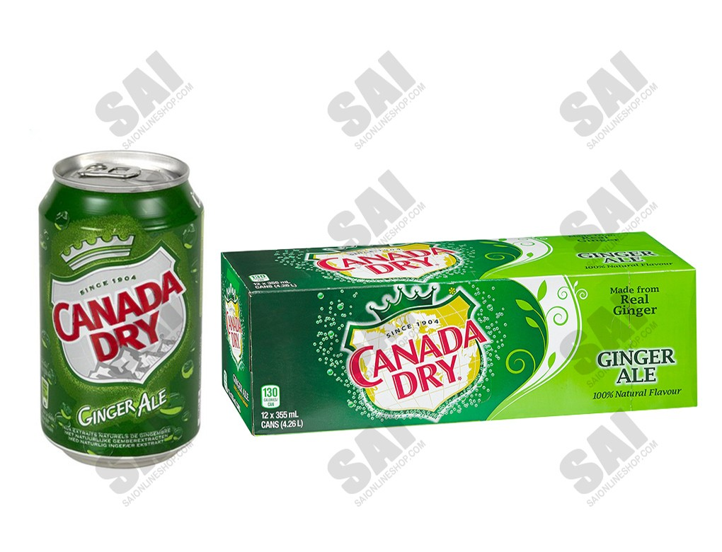 Canada Dry 33cl X 12